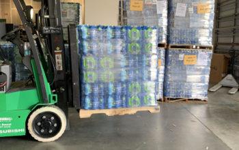 hurricane dorian water distribution